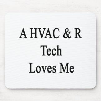 A HVAC R Tech Loves Me Mouse Pad