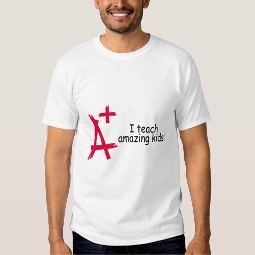 A+ I Teach Amazing Kids Tee Shirt