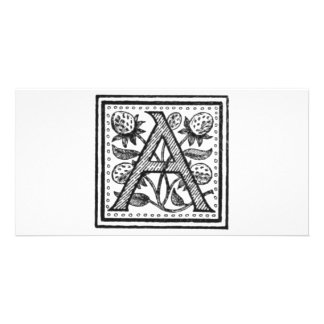 A Initial from A Monk of Fife Photo Greeting Card