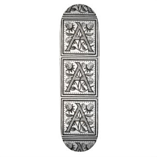 A Initial from A Monk of Fife Skateboard Deck
