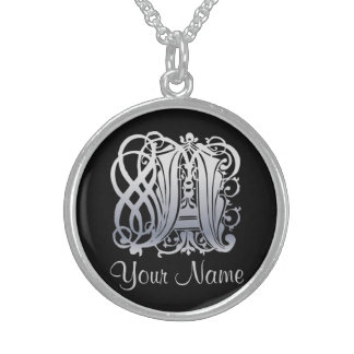 A Initial with Your Name Necklace Necklaces