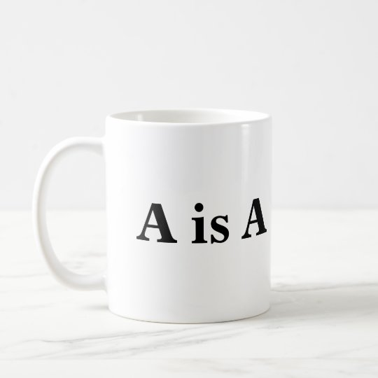 A is A Coffee Mug