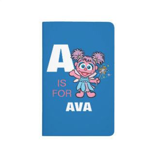 A is for Abby Cadabby | Add Your Name Journal