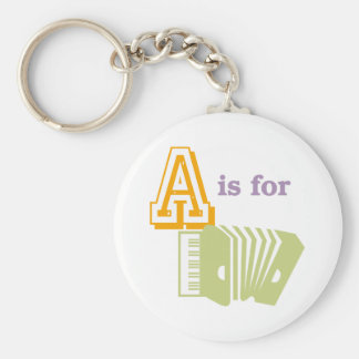 A is for Accordion Key Ring