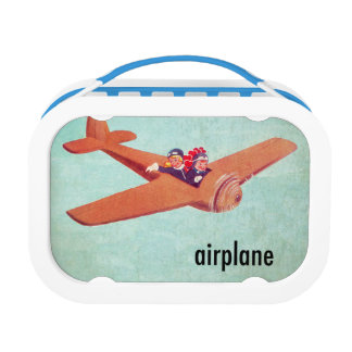 A is for Airplane Lunch Box