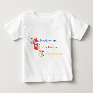 A is for Algorithm Baby T-Shirt