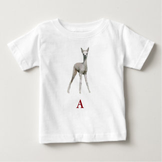 """A"" is for ""Alpaca"" Baby T-Shirt"