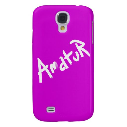 A is for AMATEUR: Designs from the I Am A ..Shop. Samsung Galaxy S4 Cases