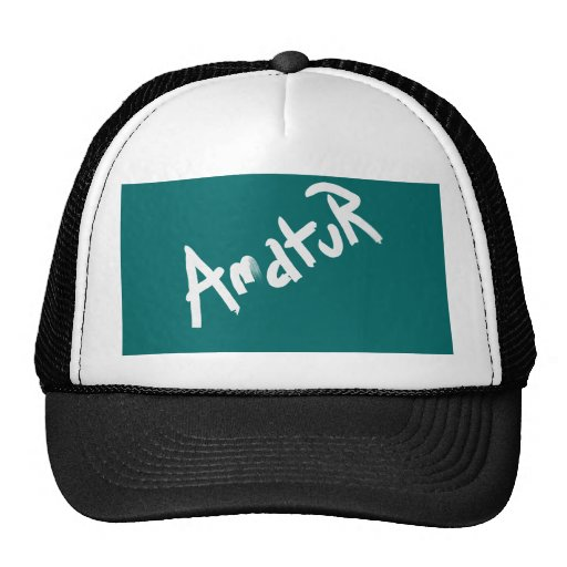 A is for AMATEUR: Designs from the I Am A ..Shop. Hat