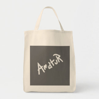A is for AMATEUR: Designs from the I Am A ..Shop. Tote Bags