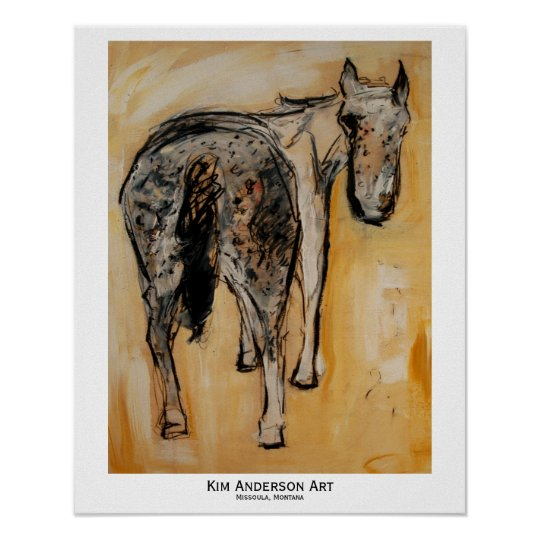 A is for Appaloosa Poster