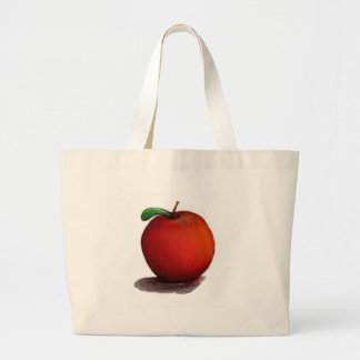 A is for Apple Jumbo Tote Bag