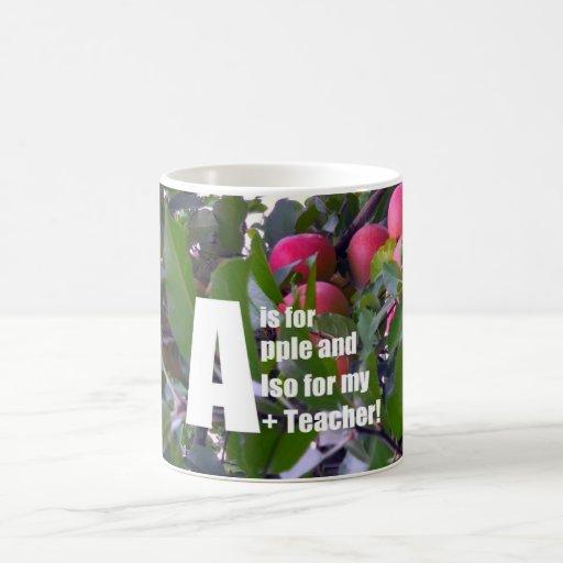 A is for apple... mug
