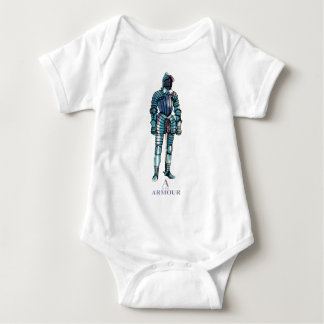 'A' is for Armour Baby Bodysuit