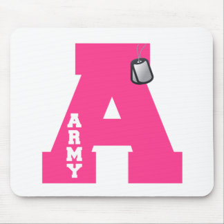A is for Army Mouse Pad