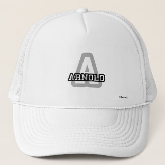 A is for Arnold Trucker Hat