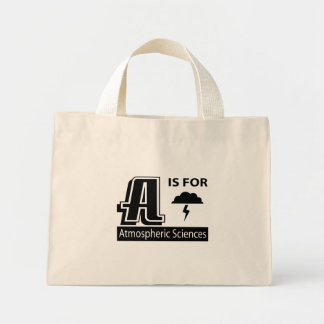 A Is For Atmospheric Sciences Tote Bags