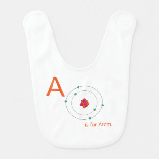 A is for Atom Baby Bib