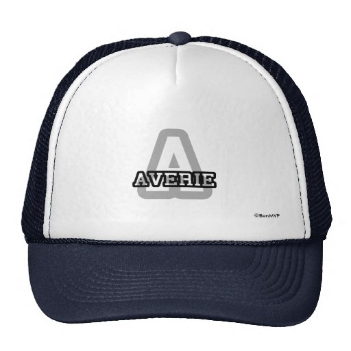 A is for Averie Trucker Hats