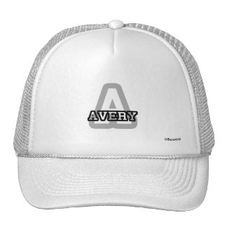 A is for Avery Trucker Hat