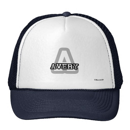 A is for Avery Hats
