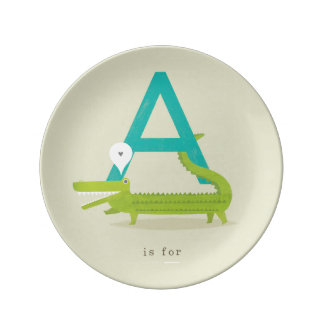 A is for... plate