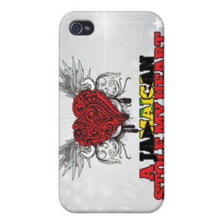 A Jamaican Stole my Heart Cover For iPhone 4
