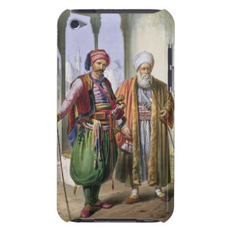 A Janissary and a Merchant in Cairo, illustration iPod Case-Mate Cases