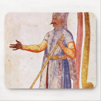 A Janissary or soldier, 1567 Mouse Mat