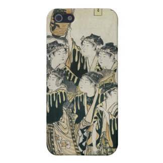 A Japanese Orchestra, Tosa School iPhone 5 Covers