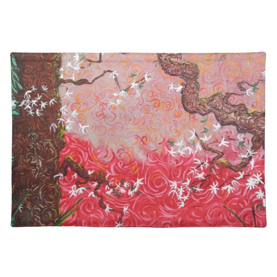 A Japanese Spring Place Mats