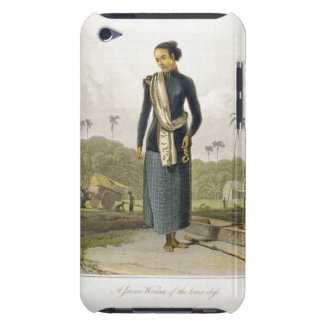 A Javan Woman of the Lower Class, plate 3 from Vol iPod Touch Case-Mate Case