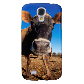 A Jersey cow being inquisitive Galaxy S4 Case