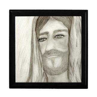 A Jesus Large Square Gift Box