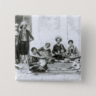 A Jewish Concert, Tlemcen 15 Cm Square Badge
