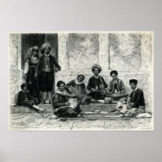 A Jewish Concert: Tlemcen Poster