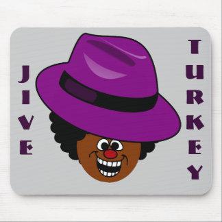 A Jive Turkey is Stuffed Full of Himself Mousepads