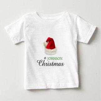 A JOHNSON Christmas Baby T-Shirt
