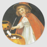 A Jolley Halloween Round Stickers
