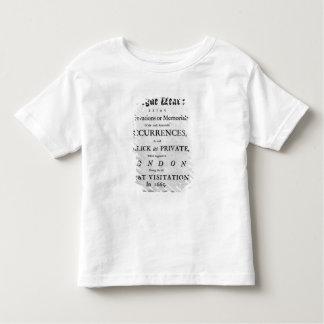 A Journal of the Plague Year, 1665 Toddler T-Shirt