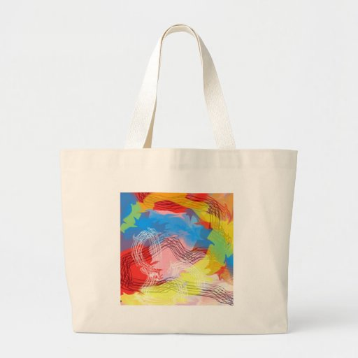A Journey in the Storm Canvas Bags