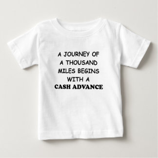 A Journey of A Thousand Miles Begins With A Cash A T Shirt