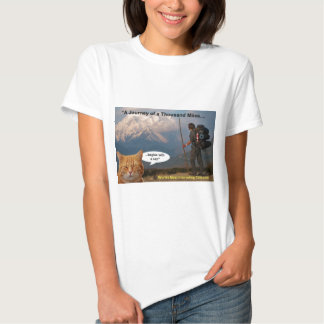 A Journey of a Thousand Miles Shirts