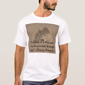 """A journey of a thousand... T-Shirt"