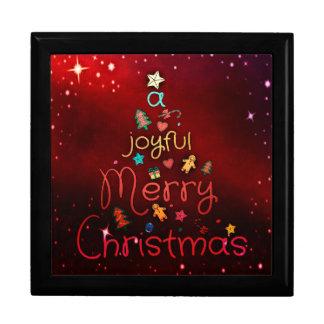 A Joyful Christmas Gift Box