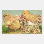 A Joyful Easter Rectangular Sticker