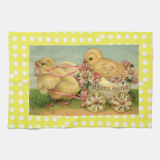 A Joyful Easter Tea Towel