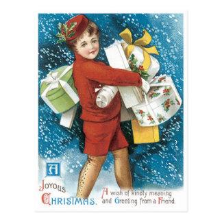 A Joyous Christmas Postcard