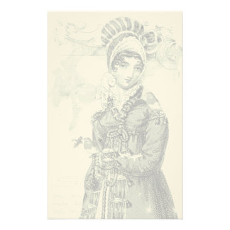 A joyous Noel Jane Austen Inspired Alt colourway Personalised Stationery