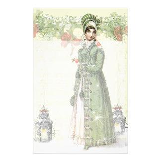 A Joyous Noel - Jane Austen inspired Stationery Design